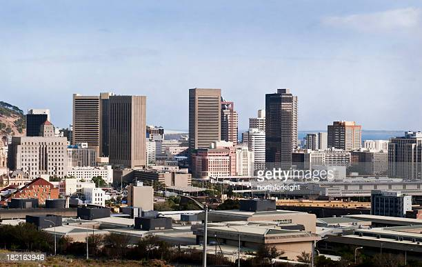 Skyline of business district in Capetown