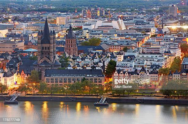 Skyline of Cologne Aldstadt