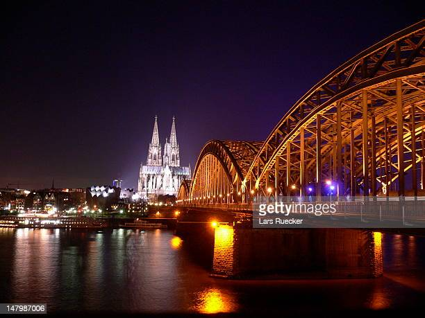 Skyline of Cologne in Germany