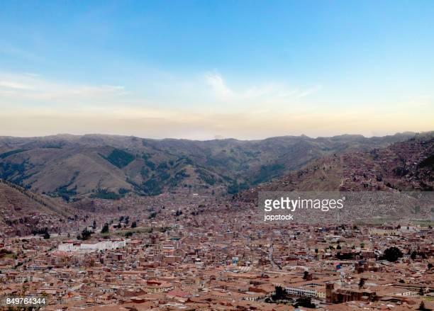 Skyline of Cusco, Peru