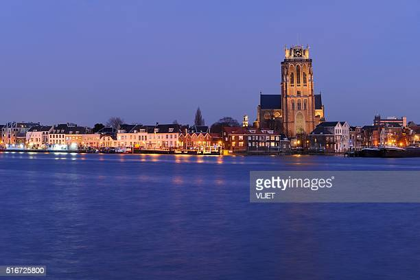 Skyline of Dordrecht with the Church of Our Lady
