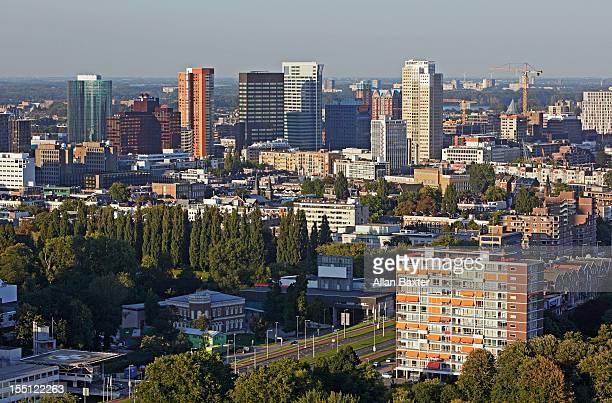 skyline of downtown Rotterdam