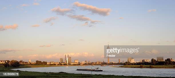 skyline of Düsseldorf, Germany