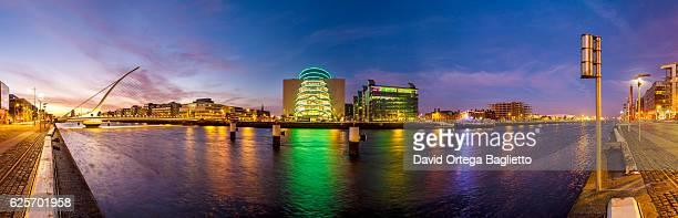 Skyline of Dublin Docklands