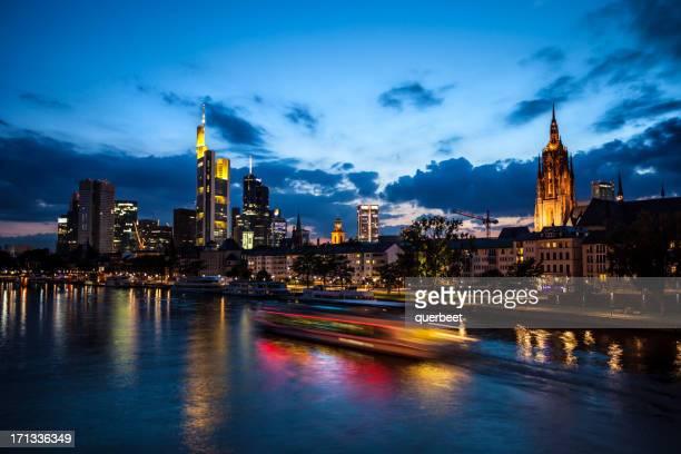 La ville de Francfort, en Allemagne