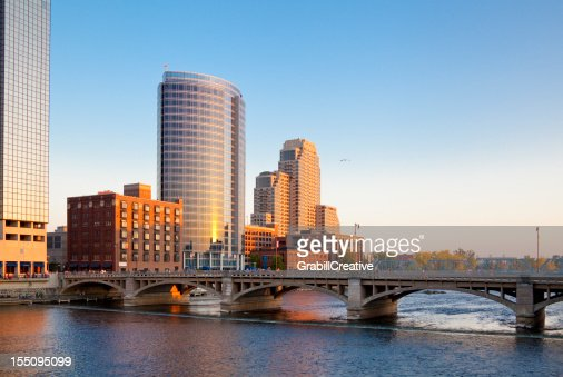 Grand Rapids, horizonte de Michigan