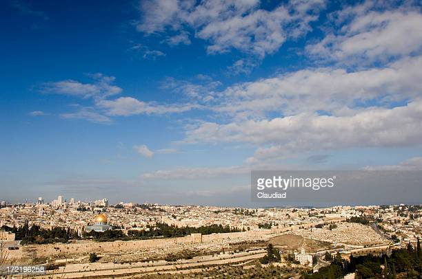 Skyline of Jerusalem