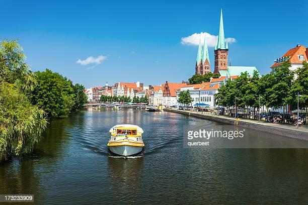 Skyline von Lübeck, Deutschland