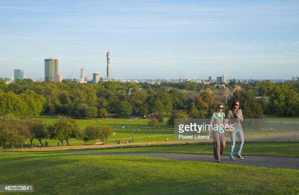Skyline of London seen from Primrose Hill