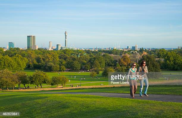 Skyline of London seen from Primrose Hill