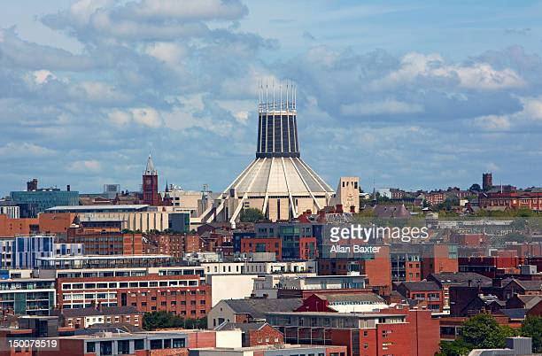 Skyline of Lverpool and Metropolitan Cathedral