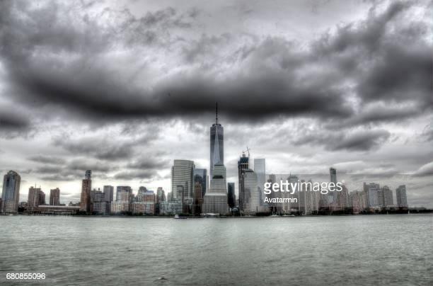 skyline of Manhattan - New York City - USA