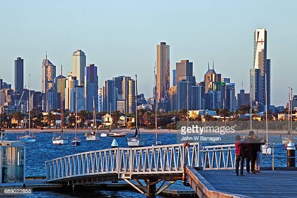 Skyline of Melbourne, Victoria,Australia