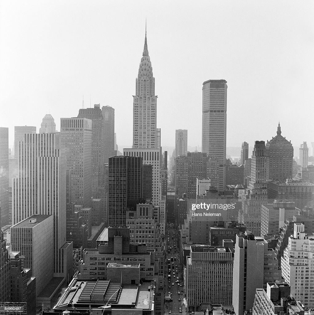 skyline of new york city empire state building stock photo getty images. Black Bedroom Furniture Sets. Home Design Ideas