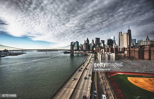 ニューヨークのスカイライン、ブルックリン橋