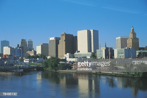 Skyline of Newark , New Jersey