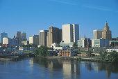 Skyline of Newark , New Jersey