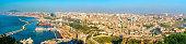 Skyline of Oran, a major city in Algeria, North Africa
