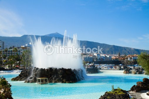 Ville de puerto cruz tenerife espagne photo thinkstock - Piscine martianez tenerife ...