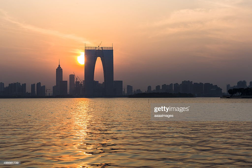 Skyline of suzhou