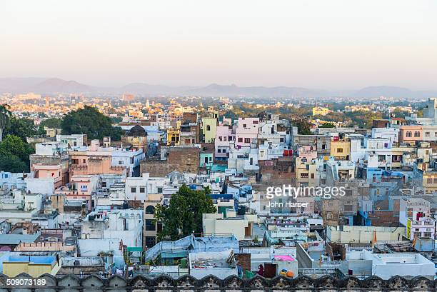Skyline over Udaipur, India