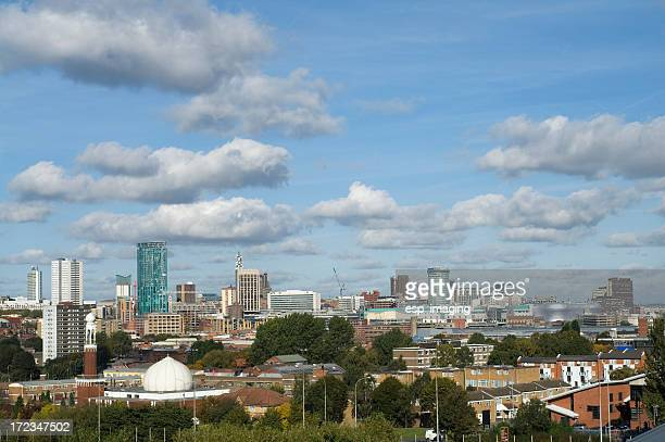 Skyline Panorama. West Midlands Birmingham