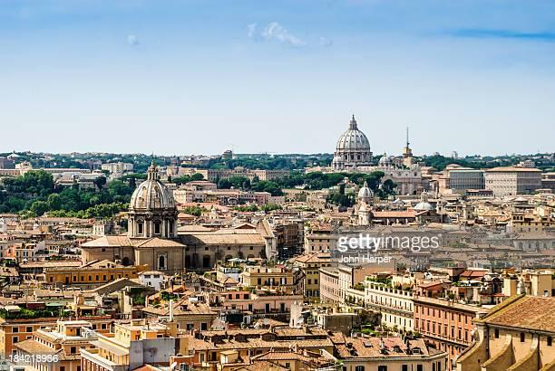 Skyline, Rome, Italy.