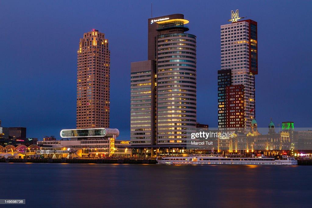 Skyline Rotterdam : Stock Photo