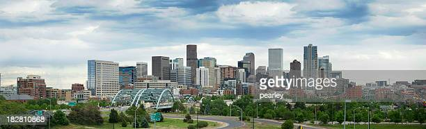 Skyline shot of Denver, Colorado