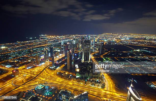 Skyline view from Burj Khalifa