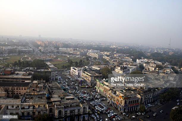 A skyline view of Inner Circle Connaught Place New Delhi