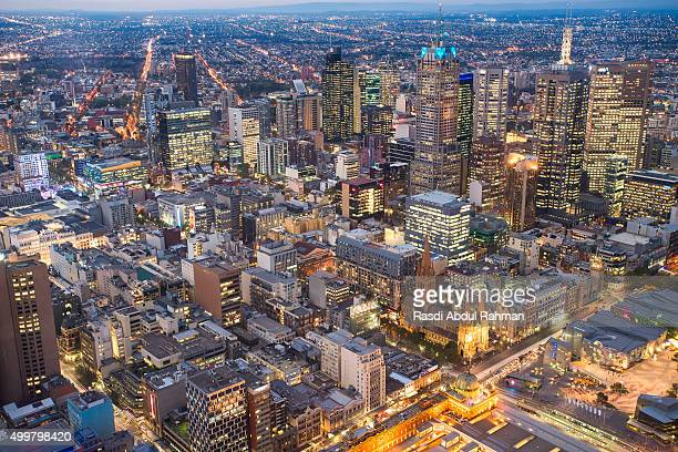Skyline view of Melbourne, Australia