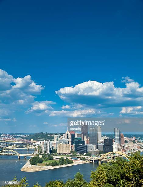 Skyline view of Pittsburgh, Pennsylvania