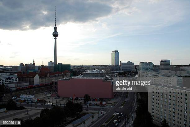 Skyline von Berlin Alexanderplatz