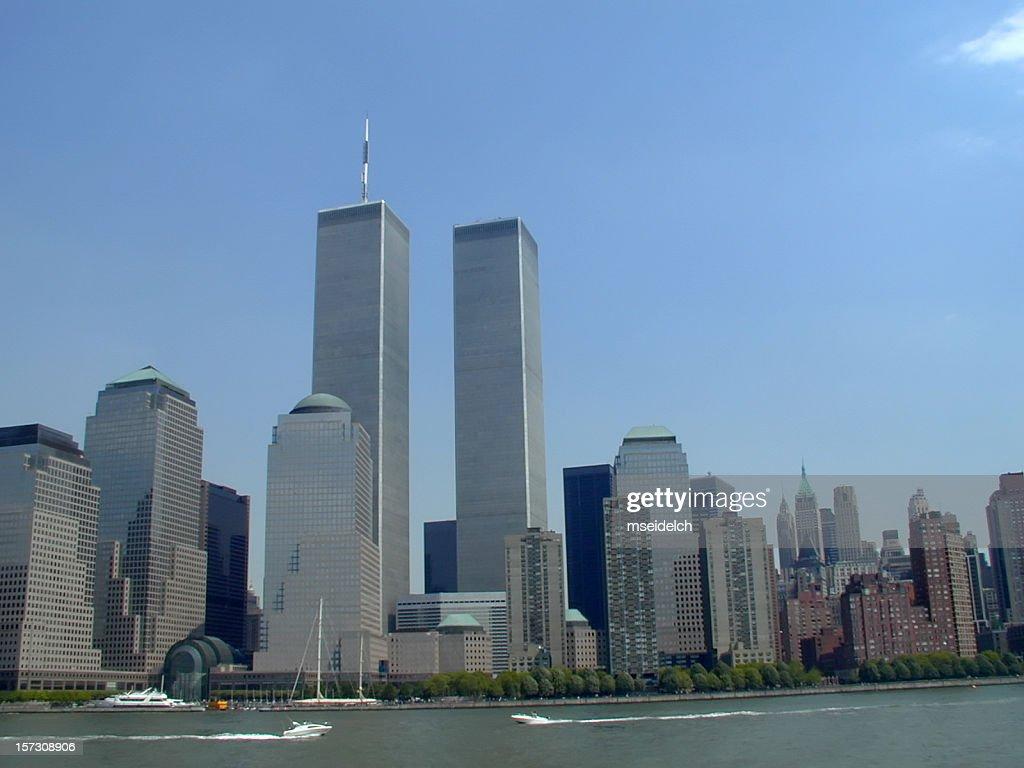 NYC Skyline with World Trade Center