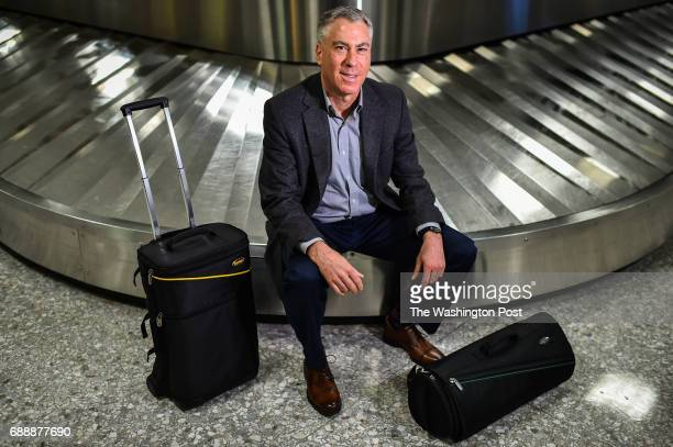 SkyRoll President Don Chernoff photographed at Dulles International Airport on Tuesday May 16 in Dulles VA Chernoff lives Reston and sells 8000...