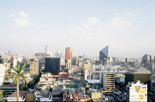 Skyscapers of Mexico City Mexico