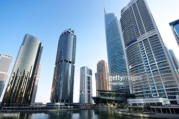 Skyscraper Apartments and office development