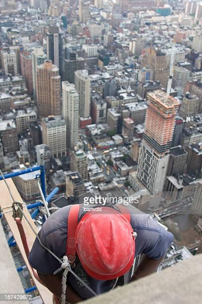 Wolkenkratzer Bauarbeiten
