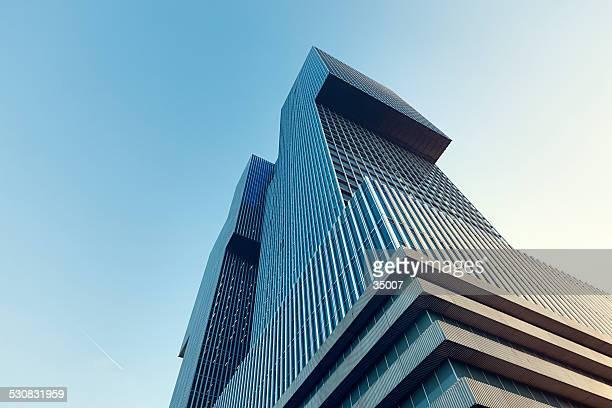 skyscraper 'de rotterdam', rotterdam, the netherlands