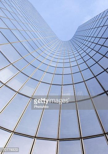 Skyscraper, low angle, abstract view : Stock-Foto