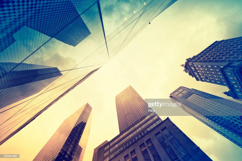 Grattacieli di New York City : Foto stock