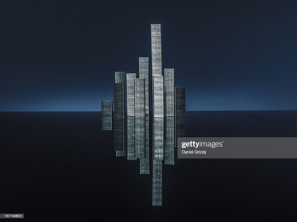 skyscraper staples : Stock Photo
