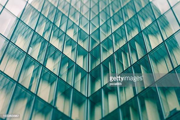 Skyscraper windows abstract pattern