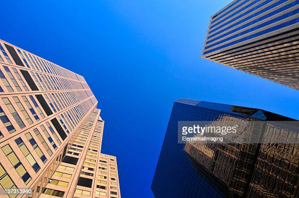 Skyscrapers at an Extreme Perspective