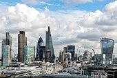 Skyscrapers, City of London, UK