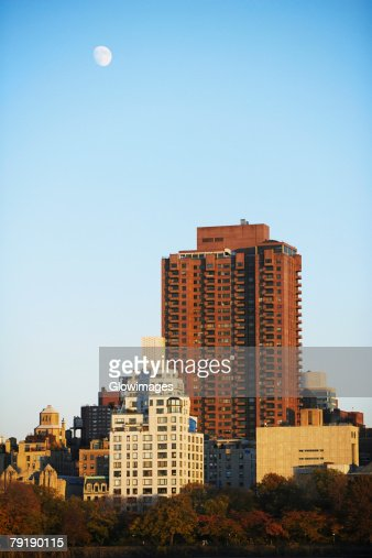 Skyscrapers in a city, New York City, New York State, USA : Stock Photo