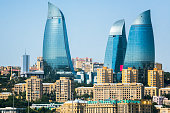 Skyscrapers in Baku