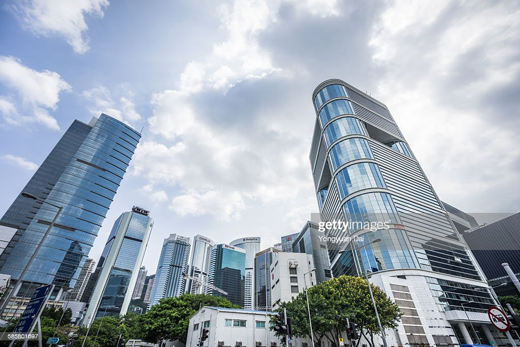Skyscrapers in Hong Kong