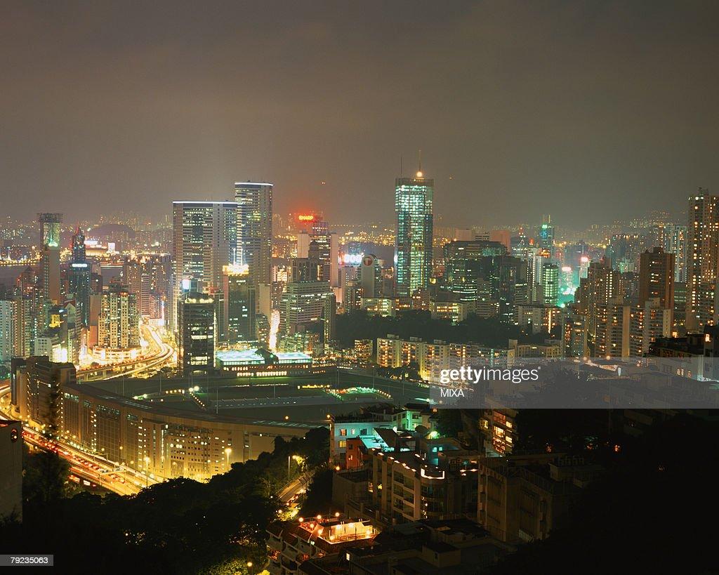 Skyscrapers in Hong Kong : Stock Photo